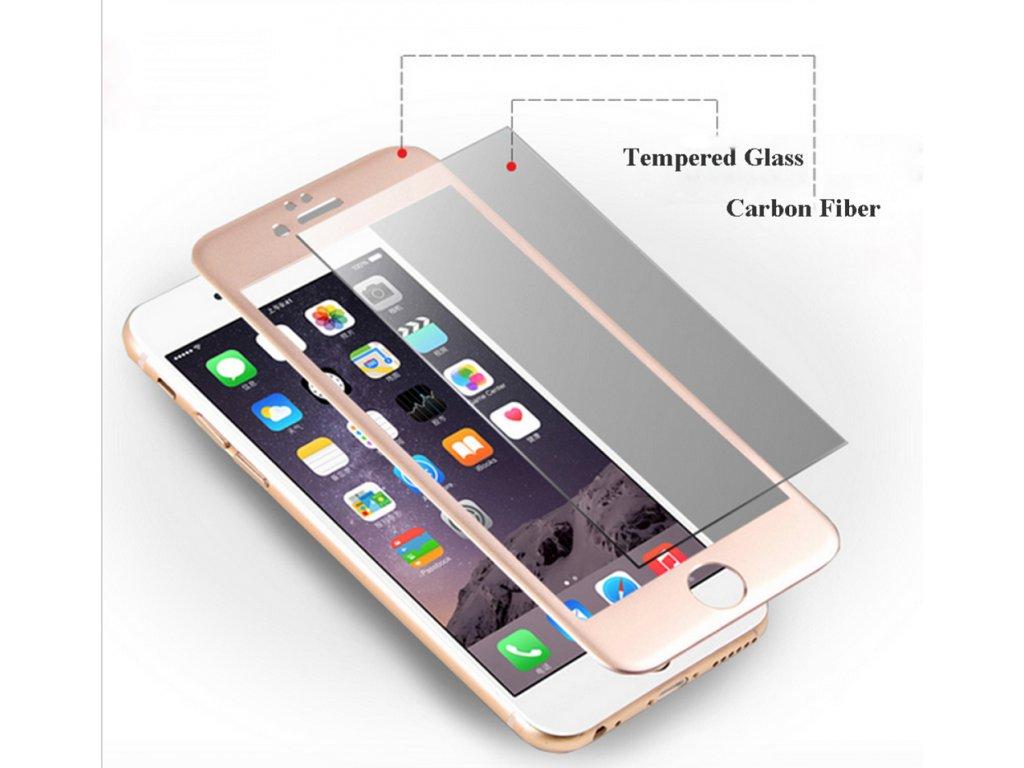 Tvrzené 3D sklo na iPhone 6 / 6S (Barva zlatá)