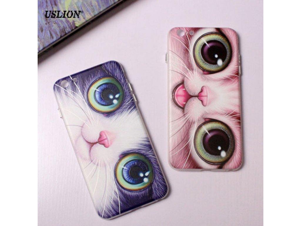 Kryt Cute Cat na iPhone 5 / 5S / SE