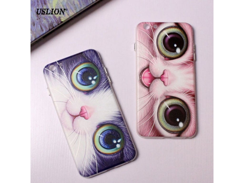 Kryt Cute Cat na iPhone 7 Plus