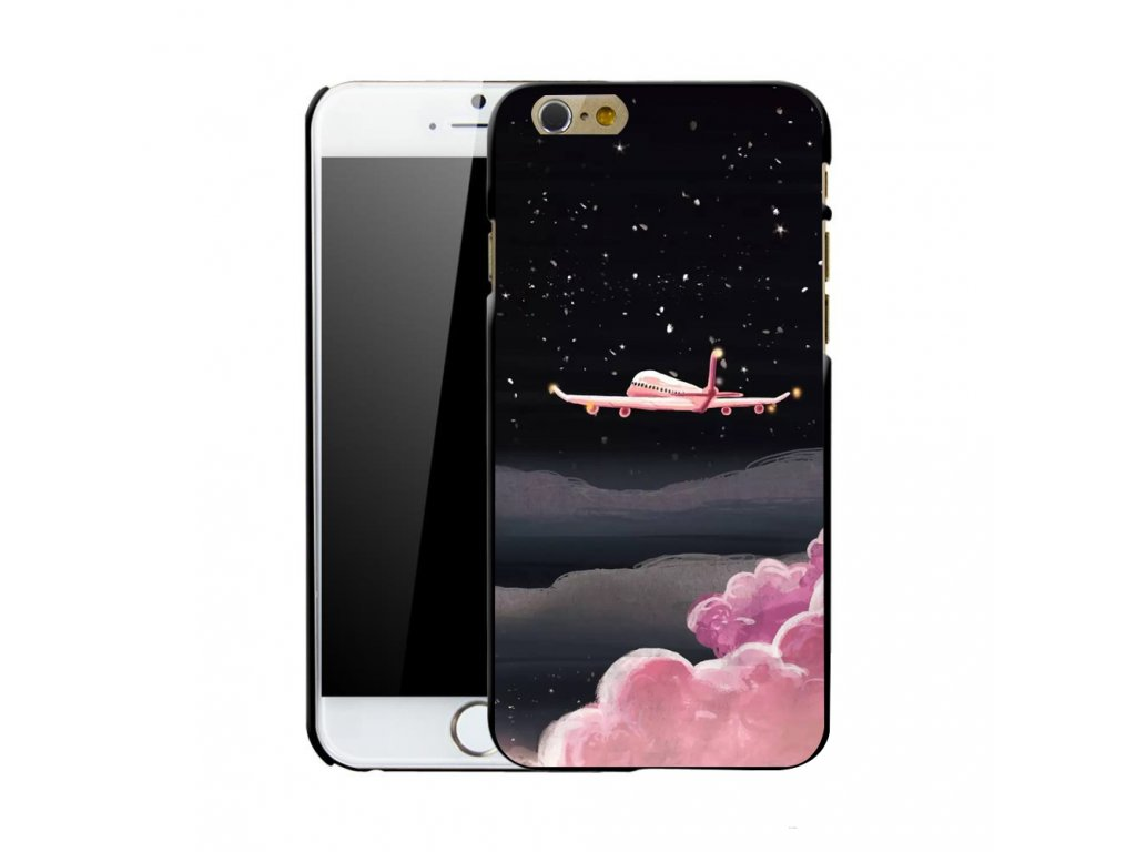 Kryt Pink Flight na iPhone 5 / 5S / SE