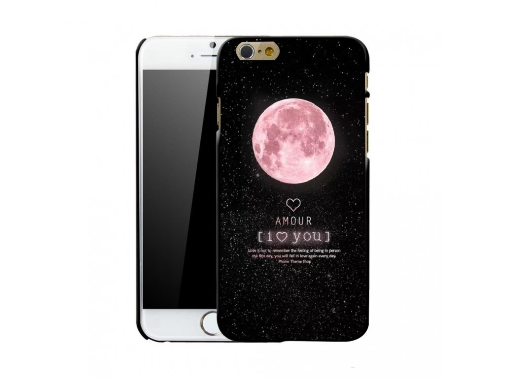 Kryt Moon Amour na iPhone 5 / 5S / SE