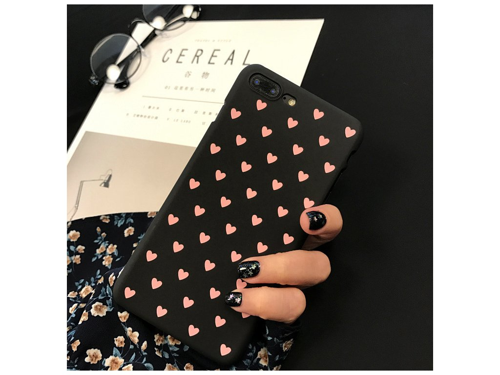 Kryt Little Heart Black na iPhone 6 Plus / 6S Plus