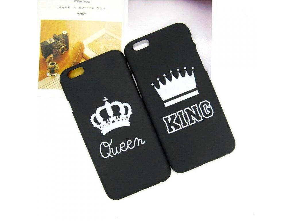 Kryt King & Queen na iPhone 8 Plus