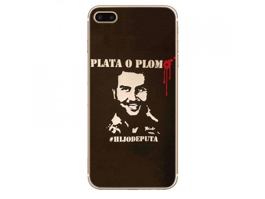 Kryt Plata O Plomo Pablo Escobar Narcos na iPhone 8