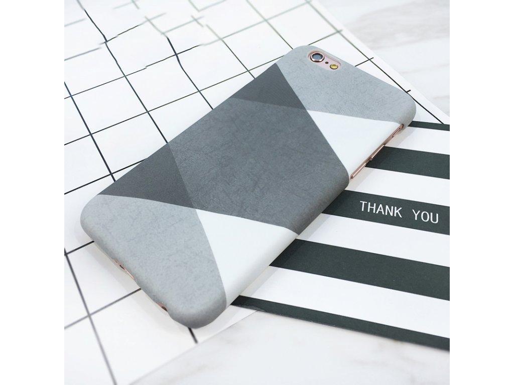 Kryt Grey Rhombus na iPhone 8