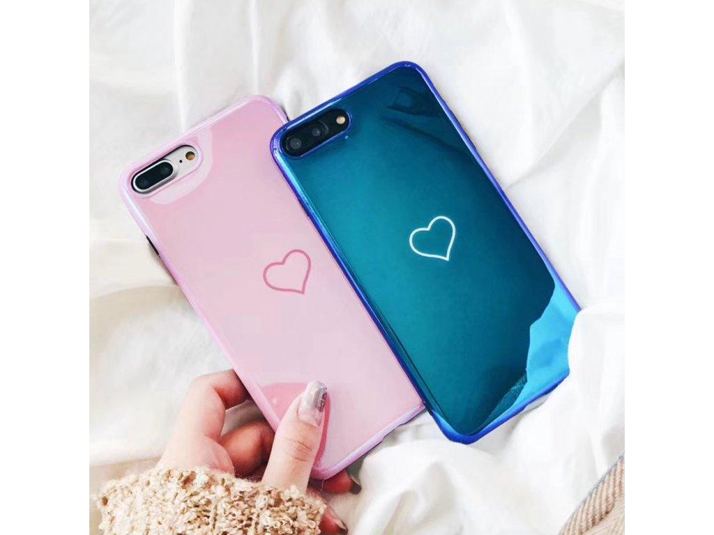 Kryt Blu-Ray Heart na iPhone 8 Plus