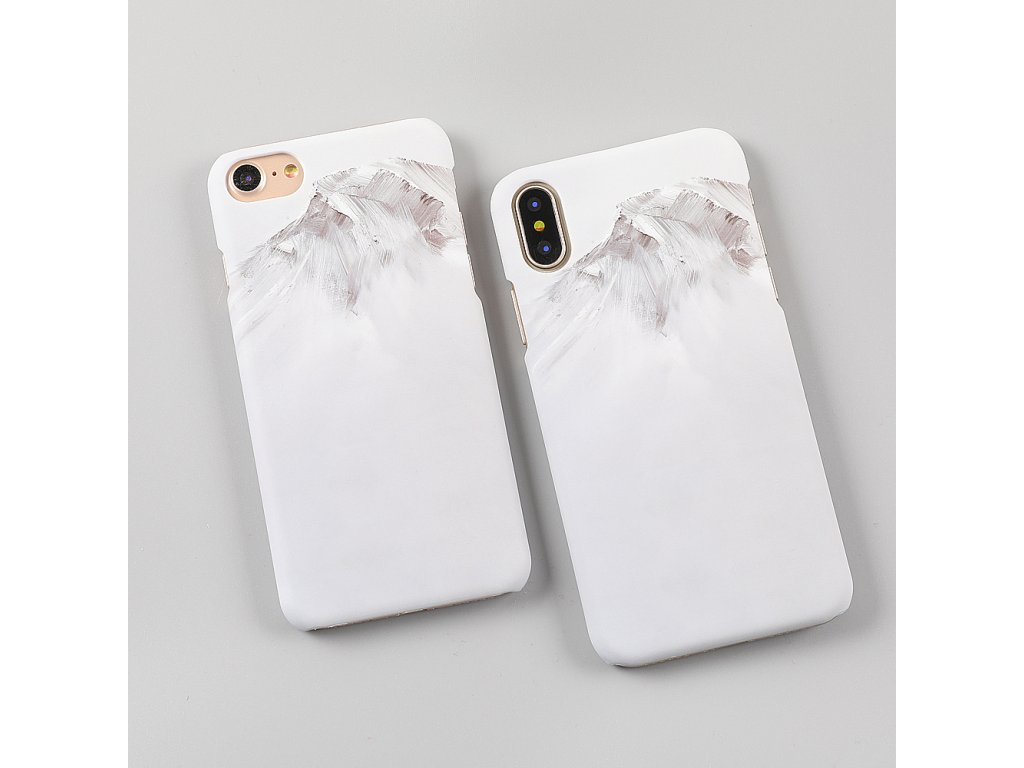 Kryt Snow Paint na iPhone 8