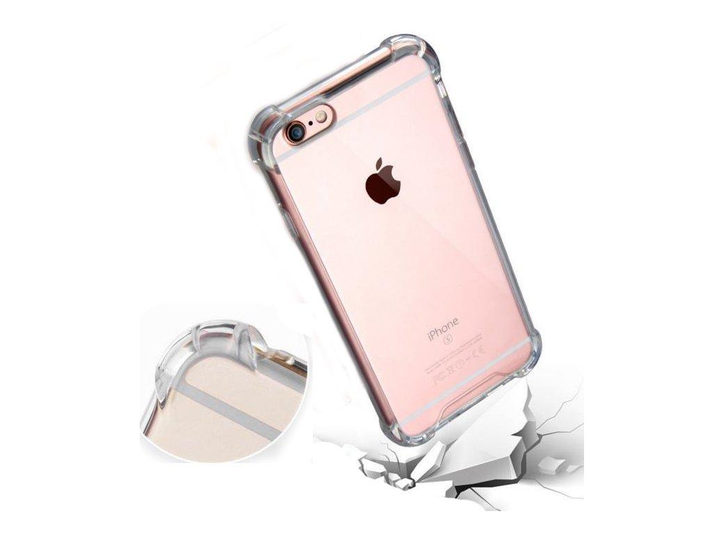 Odolný slikonový kryt Anti-shock na iPhone 5 / 5S / SE
