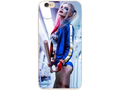 Kryt Suicide Squad Harely Quinn na Iphone 6 / 6S (Barva Baseball)