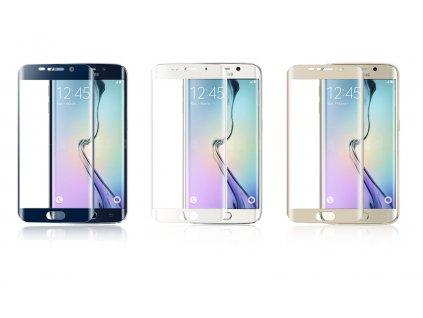 Tvrzené 4D sklo 9H na Samsung Galaxy S6 Edge