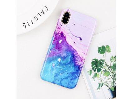 Kryt Gradient Marble na iPhone 8 Plus