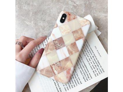 Kryt Retro Marble na iPhone 7