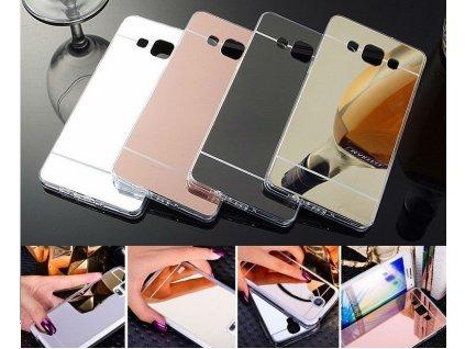 Luxusní silikonový zrcadlový kryt mirror na Samsung Galaxy S6