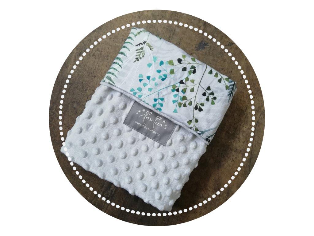 Tenké deky dvouvrstvé 100x74
