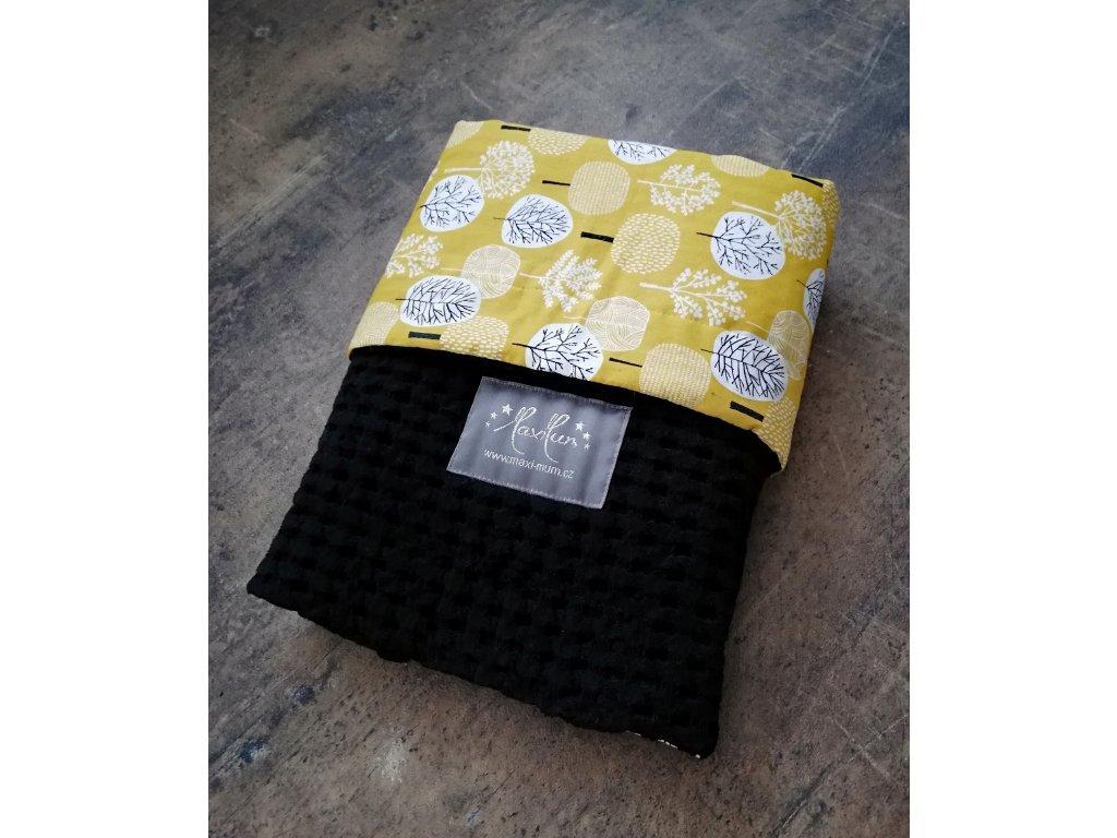 Tenké deky design waffle