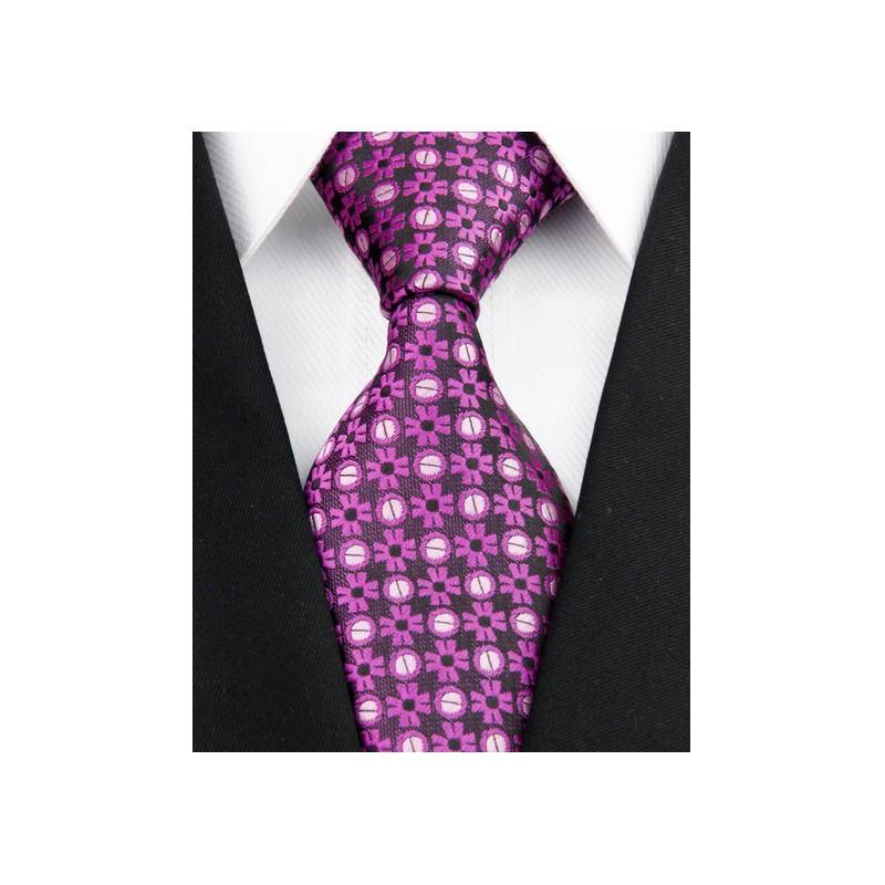 Fialové kravaty