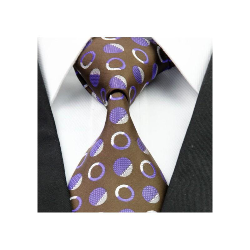 Hnědé kravaty