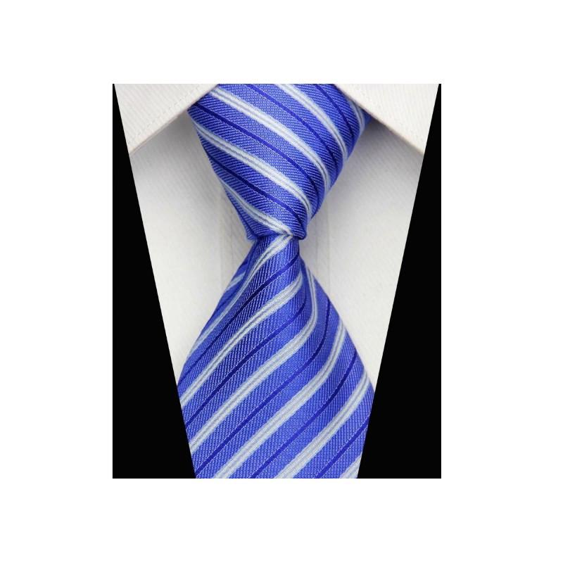 Modré kravaty