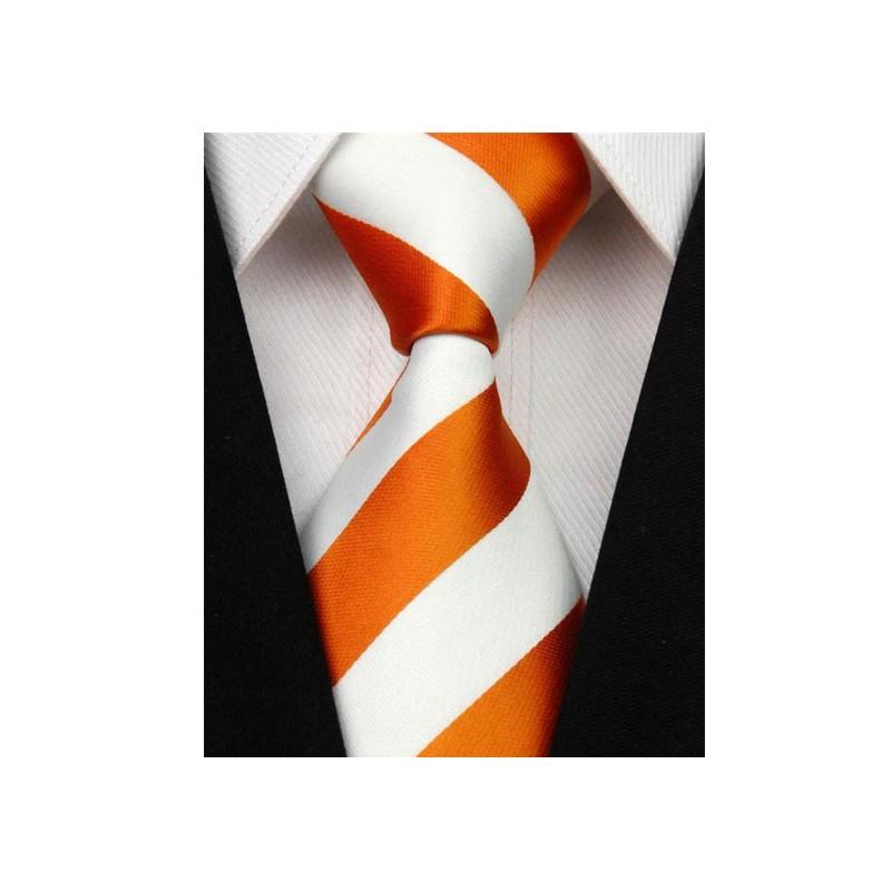 Oranžové kravaty