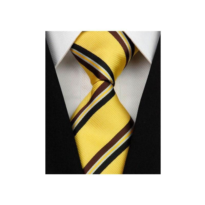 Žluté kravaty