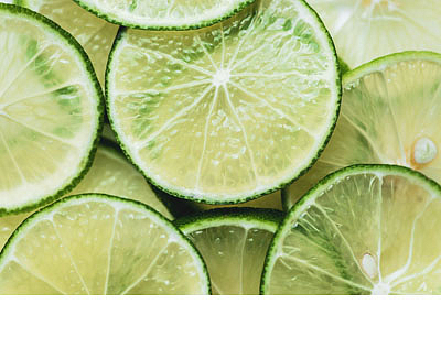 Limetka a citrónová verbena
