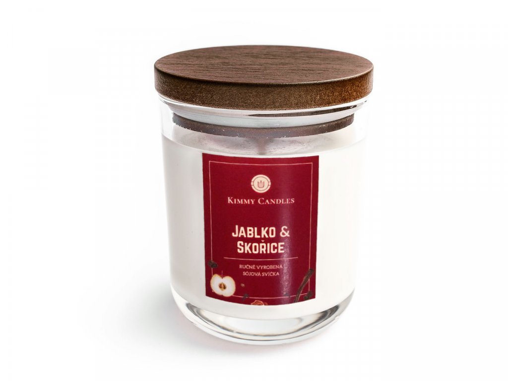 Sójová svíčka Jablko & Skořice
