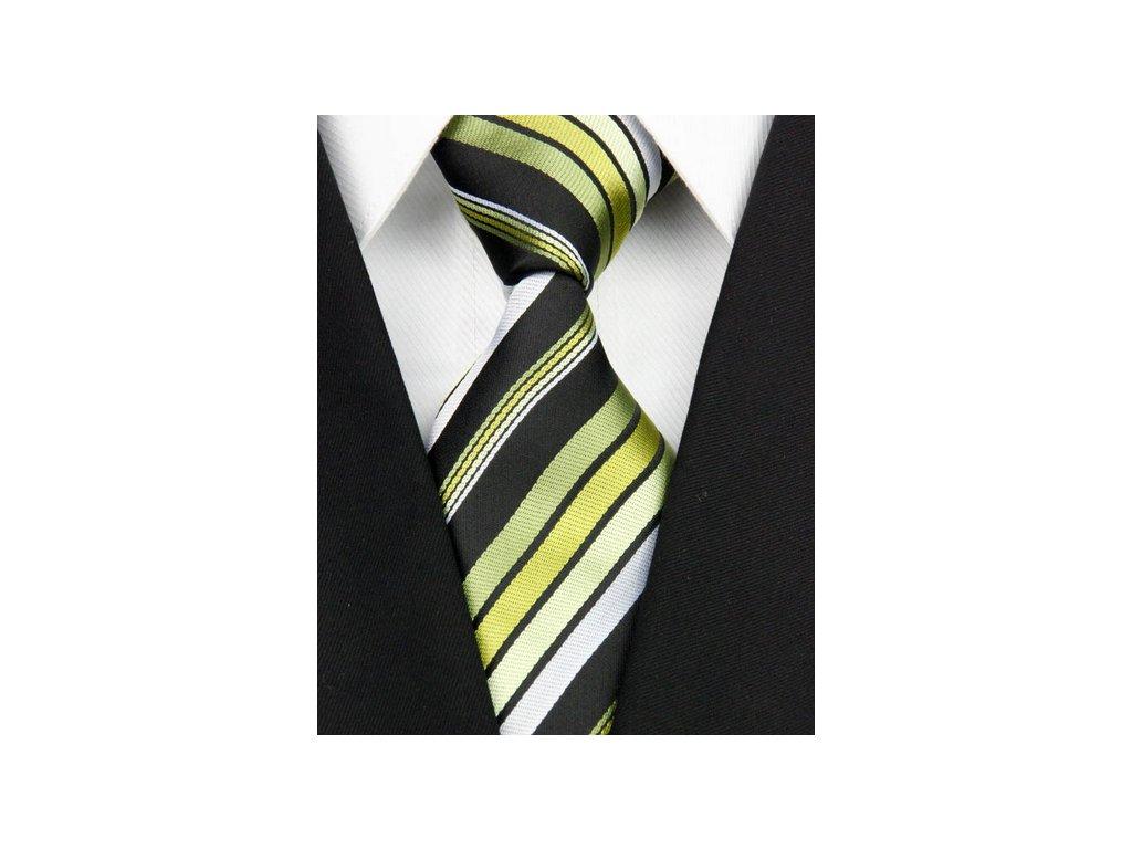 Hedvábná kravata vícebarevná NT0137