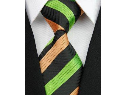 Hedvábná kravata vícebarevná NT0155