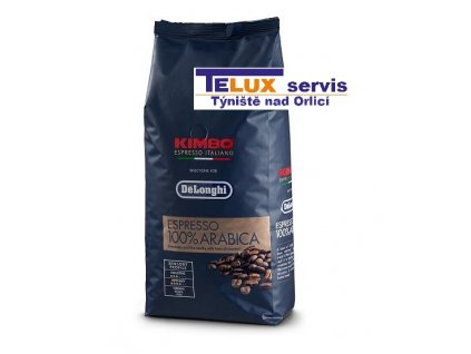 kava delonghi kimbo 100 arabica 1kg zrnkova