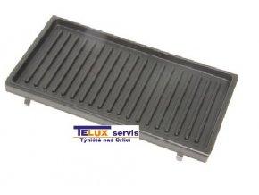 Horní grilovací deska grilu DéLonghi  / 7023110001