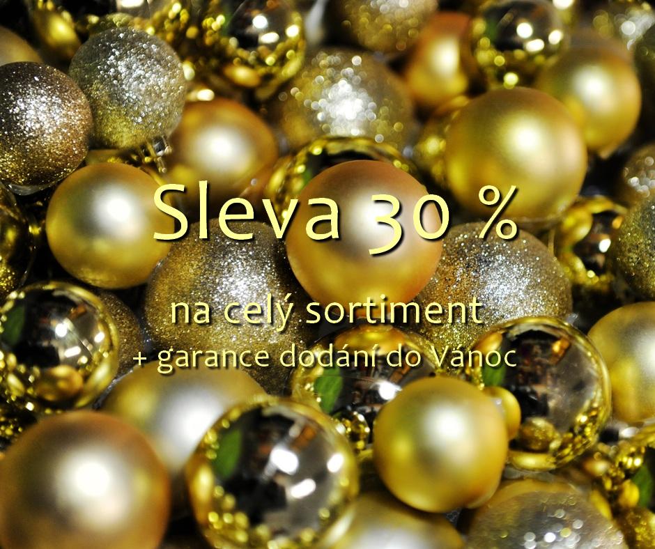 Sleva 30 % na celý sortiment!