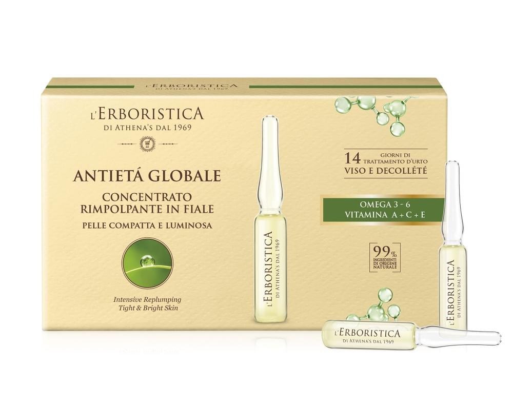 Ingredience obsažené v anti-age vyplňujícím koncentrátu ampule 7x2 ml