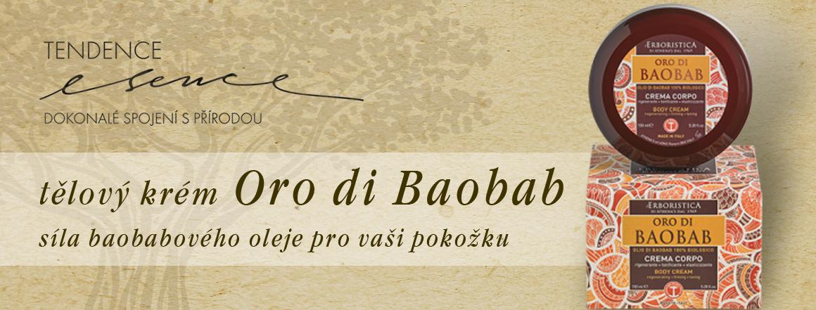 Athenas Oro di Baobab tělový krém zpevňující