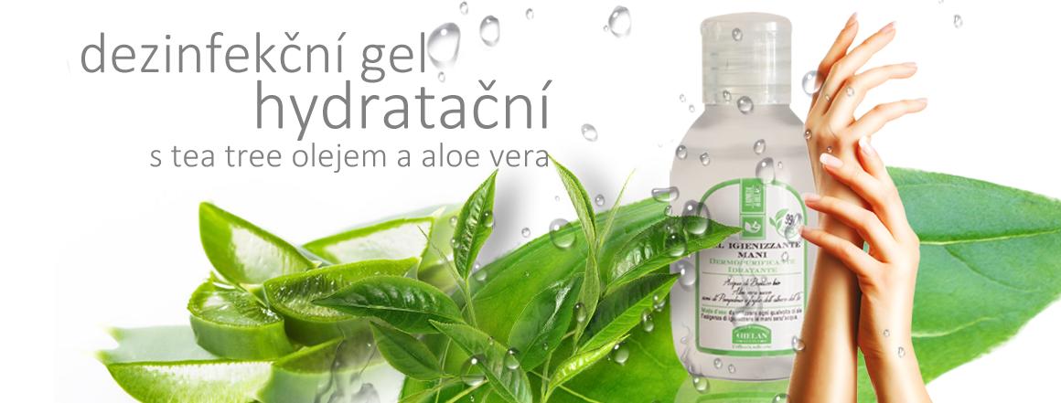 Helan Dezinfekční gel na ruce s tea tree olejem a aloe vera šťávou 100 ml
