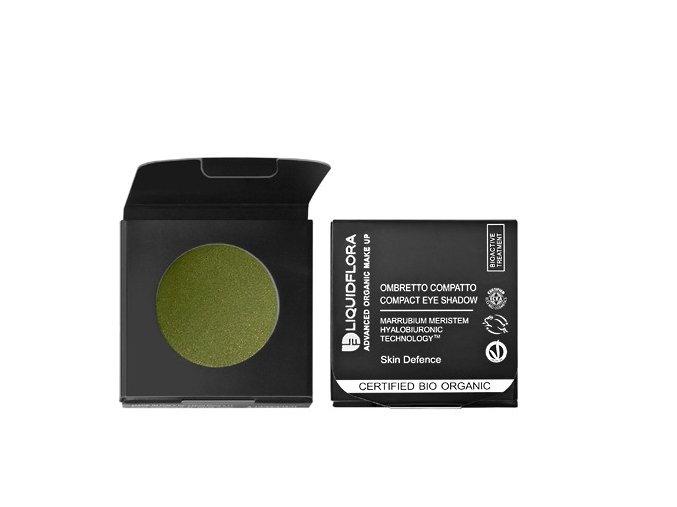 Náplň pro bio oční stíny SKIN DEFENSE- GOLDEN GREEN 04