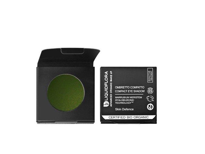 Náplň pro bio oční stíny SKIN DEFENSE - GREEN ATTRACTION 10