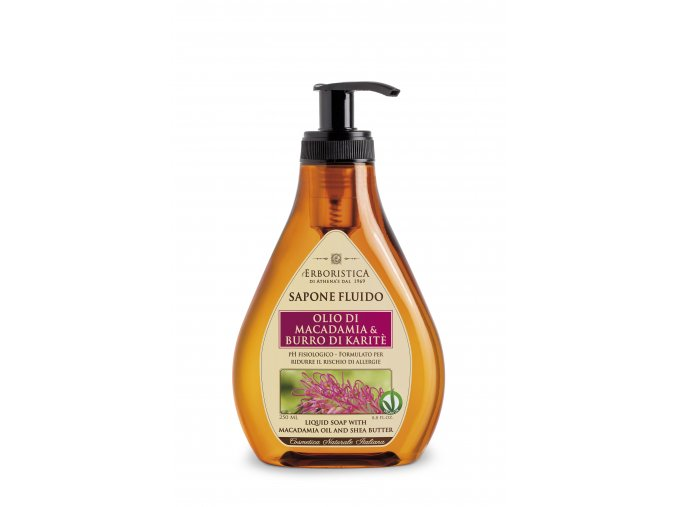 Tekuté mýdlo s makadamiovým olejem a bambuckým máslem 250 ml