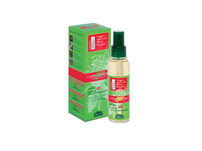 HELAN Regenerační olej na vlasy s jojobou a babassu ve spreji 100 ml