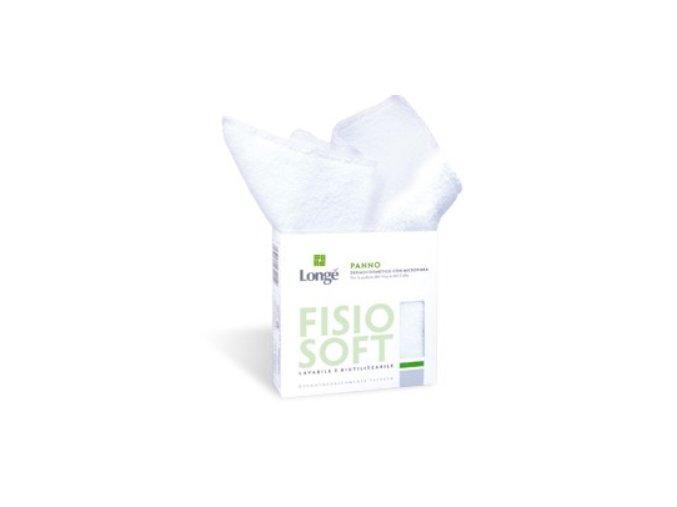 Longema Longé Fisio Soft odličovací a mycí utěrka na pleť i tělo 27x27 cm
