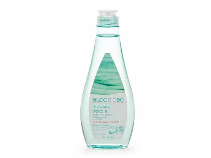 Erboristica AloeBio50 Sprchový gel hydratační na citlivou pokožku 250 ml
