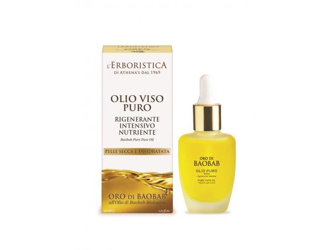 Erboristica Oro di Baobab pleťový olej regenerační 30 ml