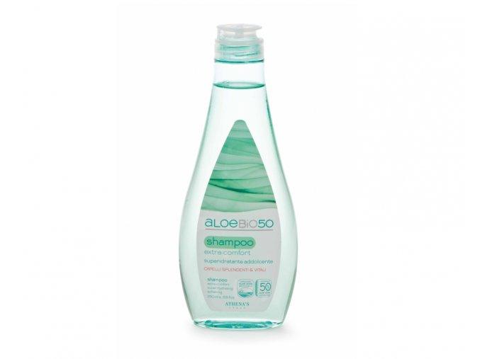 Athenas Erboristica AloeBio50 Šampon hydratační na jemné vlasy 250 ml