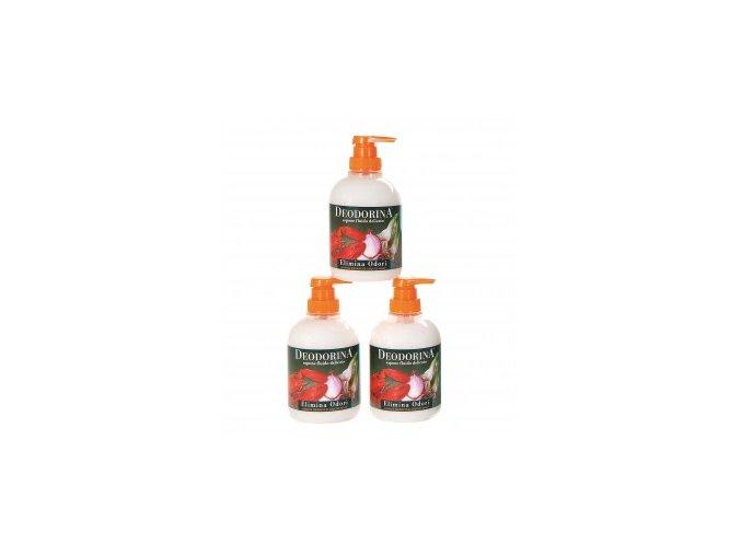 Erboristica Tekuté mýdlo na odstranění pachů 250 ml