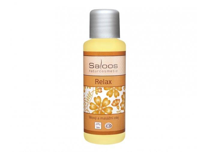 Masážní tělový olej Relax