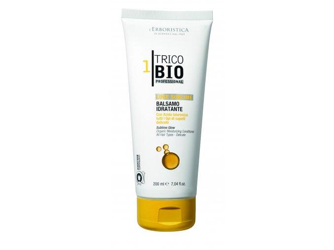 Erboristica TricoBio Sublime Glow Kondicionér vlasový hydratační s kyselinou hyaluronovou 200 ml