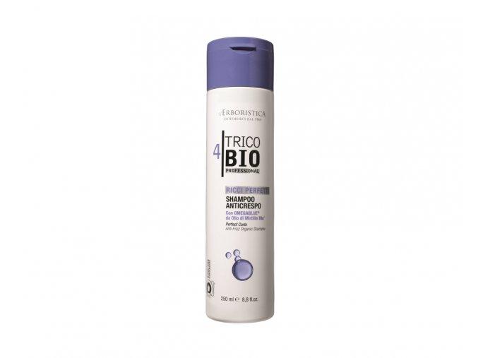 Erboristica TricoBio Perfect Curls Šampon na kudrnaté vlasy s OmegaBlue olejem 250 ml
