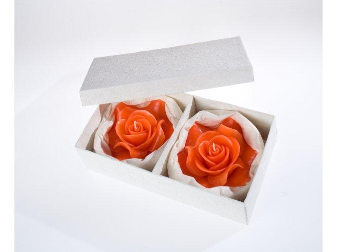 EDG Italy svíčky Růže 2 ks