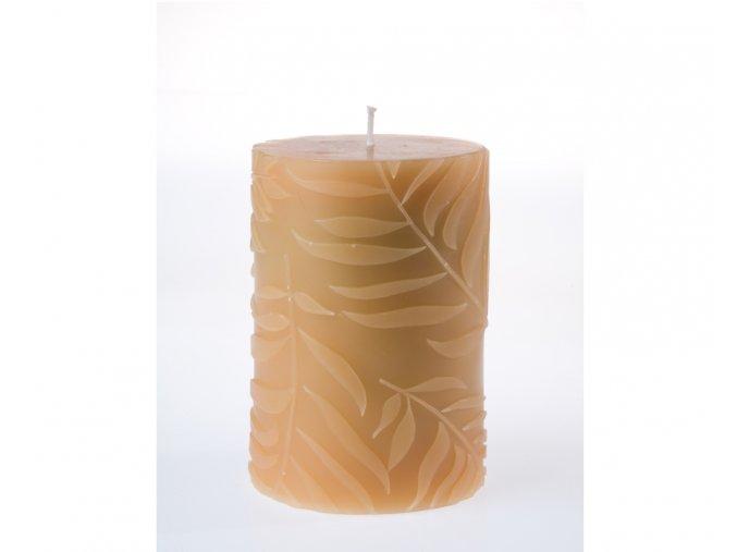 EDG Italy Dekorační svíčka s listy
