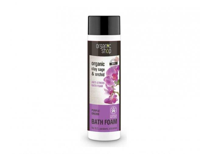 pěna do koupele fialová orchidej