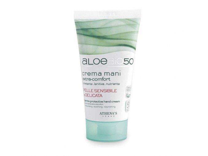 Athena's AloeBio50 Krém na ruce hydratační a zklidňující 75 ml